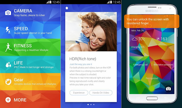 All New Best Samsung Galaxy S5 Features Complete Review And Description