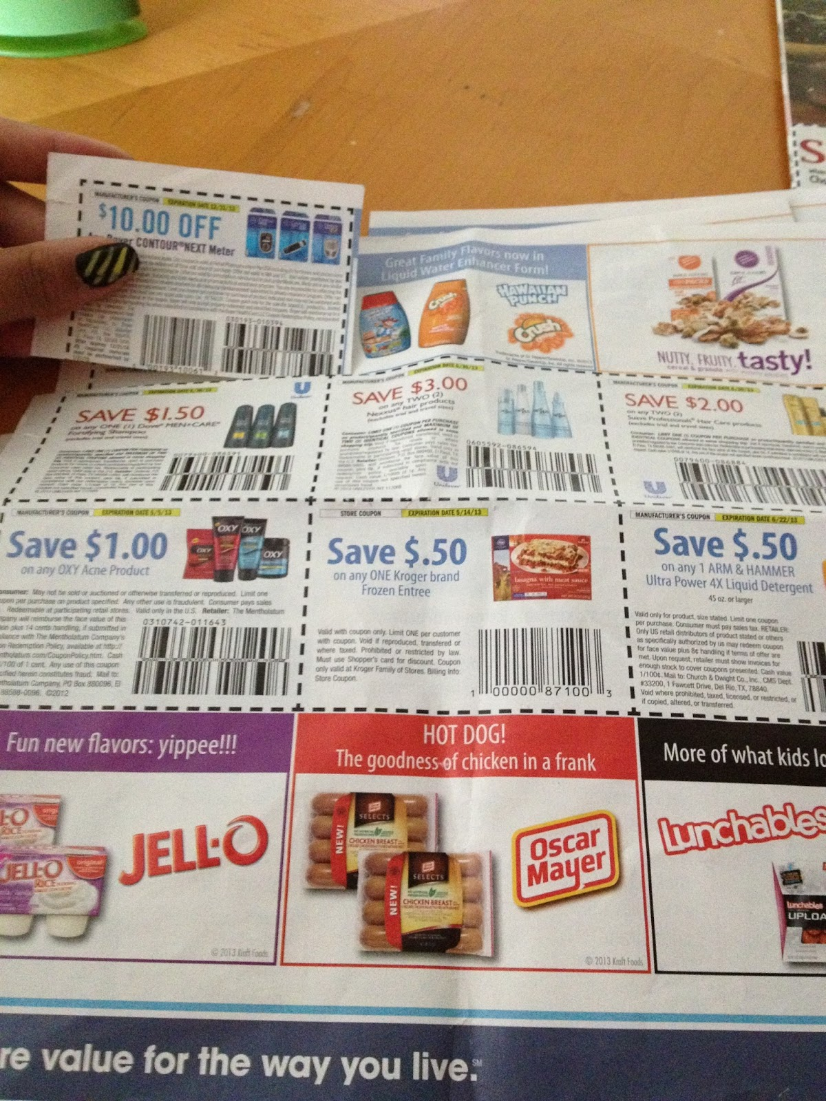 Coupons for blankets