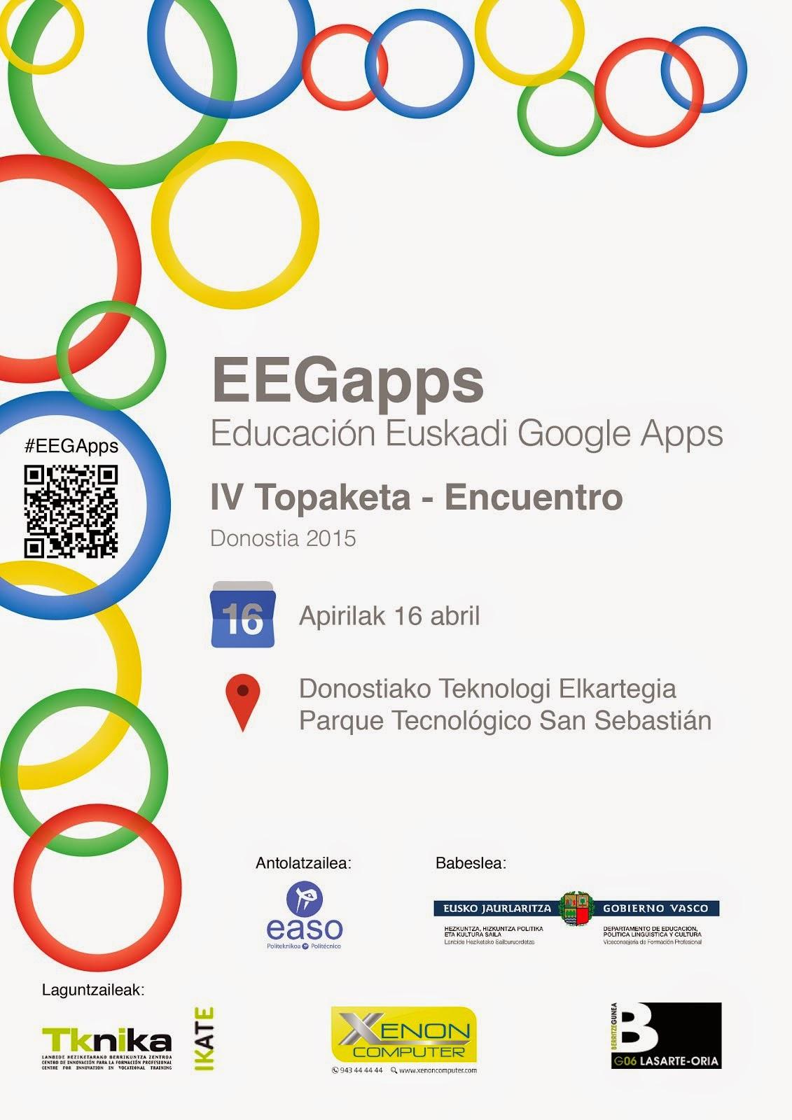 IV Encuentro EEGApps IV Topaketa 2015