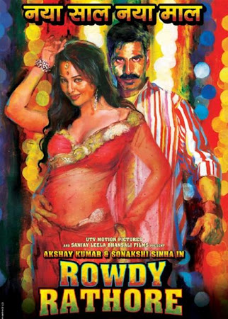 Poster Of Rowdy Rathore (2012) All Full Music Video Songs Free Download Watch Online