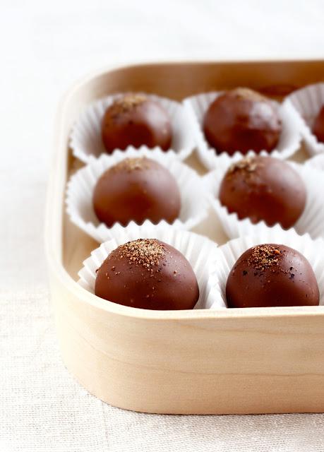 tartufi cioccolato noce moscata
