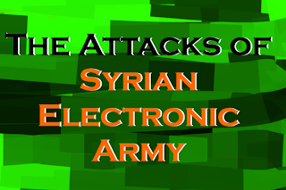 The Attacks of Syrian Electronic Army front