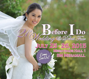 Before I Do – Wedding and Debut Fair 21st Edition Pre-Event Press Release