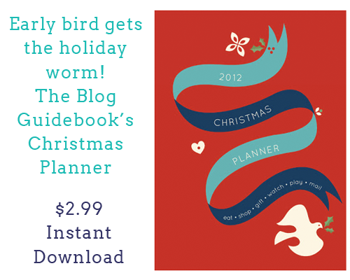 The Blog Guidebook's Instant Download Christmas Planner