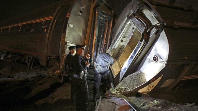 descarrilamiento de tren en Filadelfia