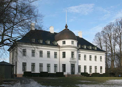 Photograph of Bernstorff Palace, Copenhagen
