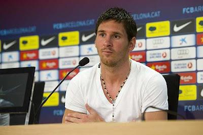 """Messi: """"Iker también puede ganar el Balón de Oro"""""""