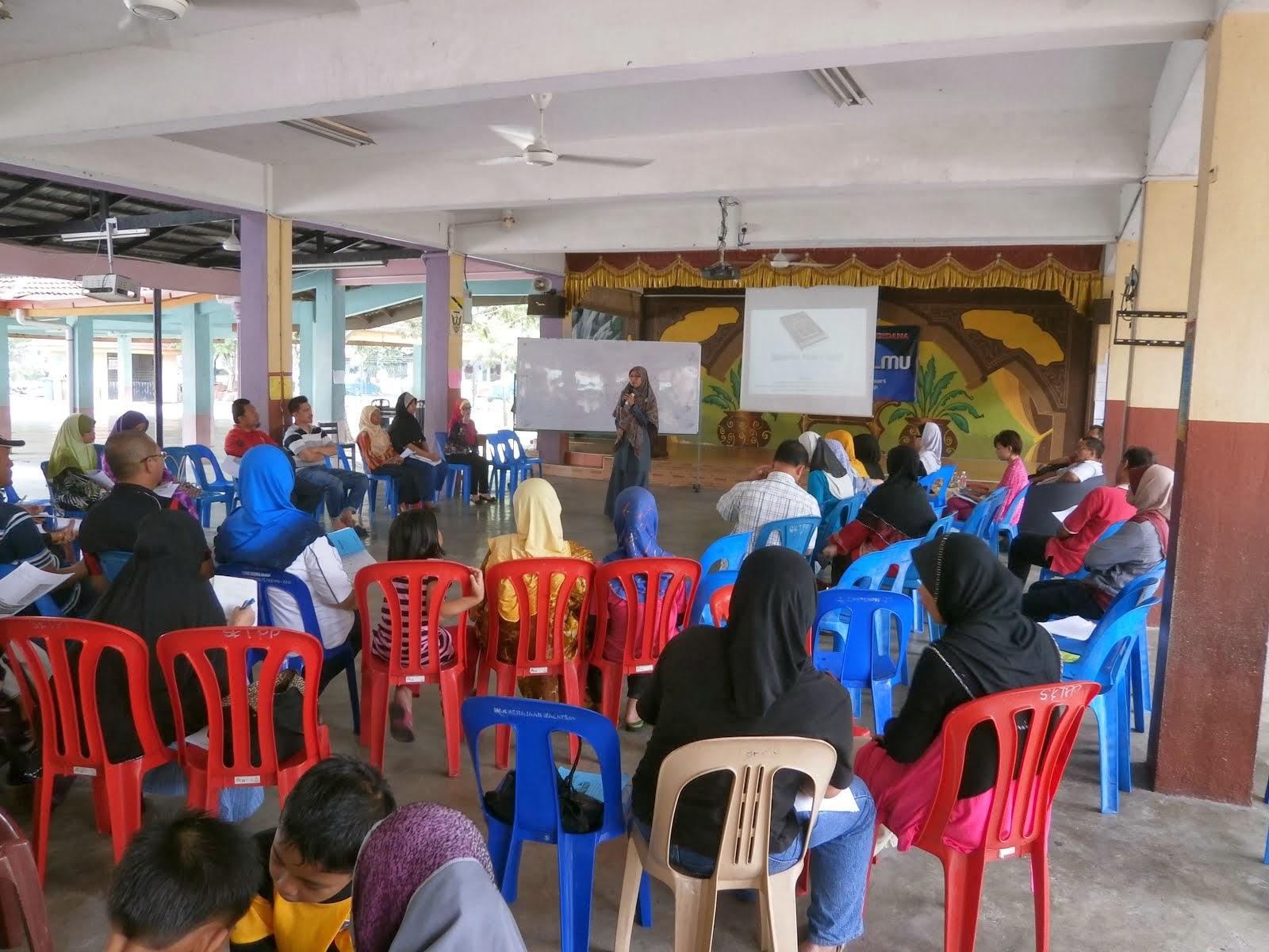 Seminar Mendorong Anak di SK Putra Perdana