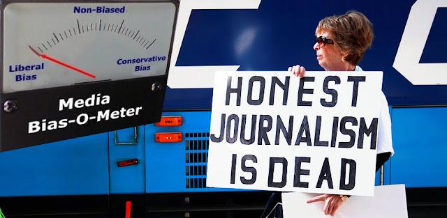 Honest journalism is dead