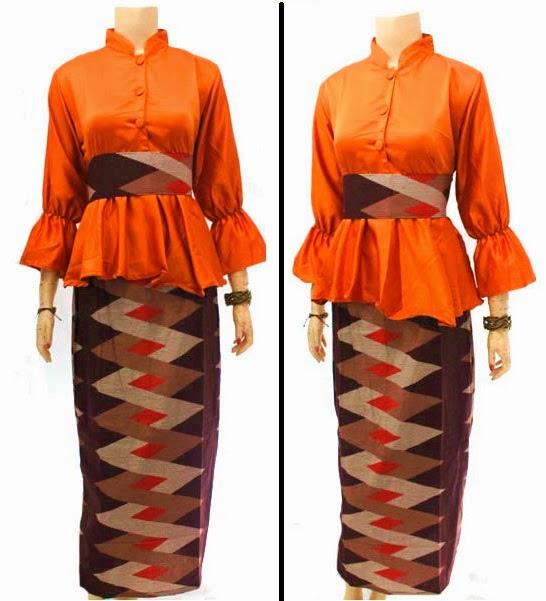Baju Batik Dress Muslim motif asmat