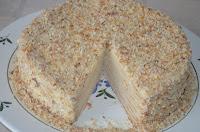 Творожный Наполеон: После пропитки торт можно кушать