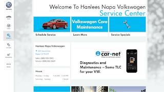 Hanlees Volkswagen Service Page