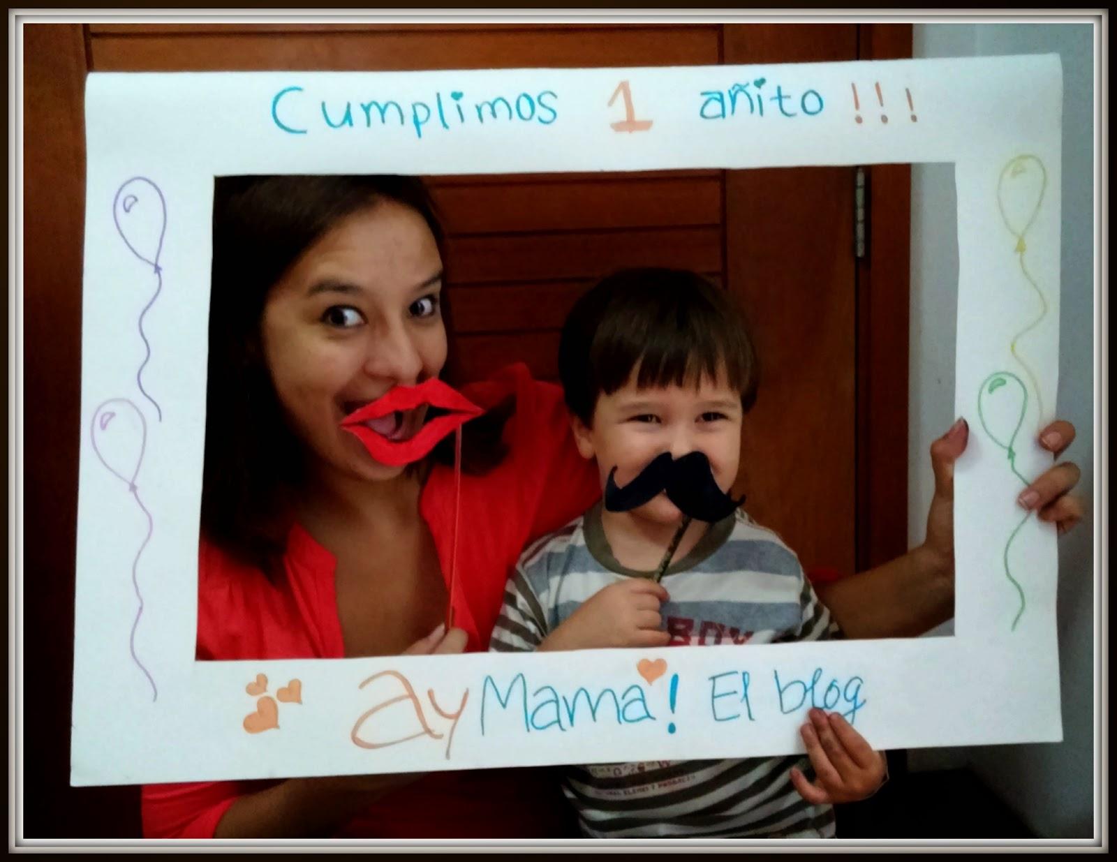 AyMAMÁ! El blog: DIY Marco gigante para fotos