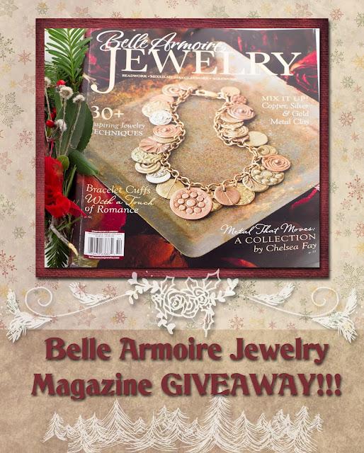 Love my art jewelry belle armoire jewelry magazine giveaway for Belle armoire jewelry magazine subscription