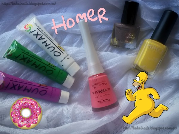Nails Simpsons