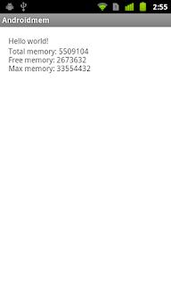 memory information
