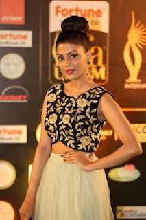 Actress Monal Gajjar Stills in Designer Dress At IIFA Utsavam Awards 2016   (10).jpg