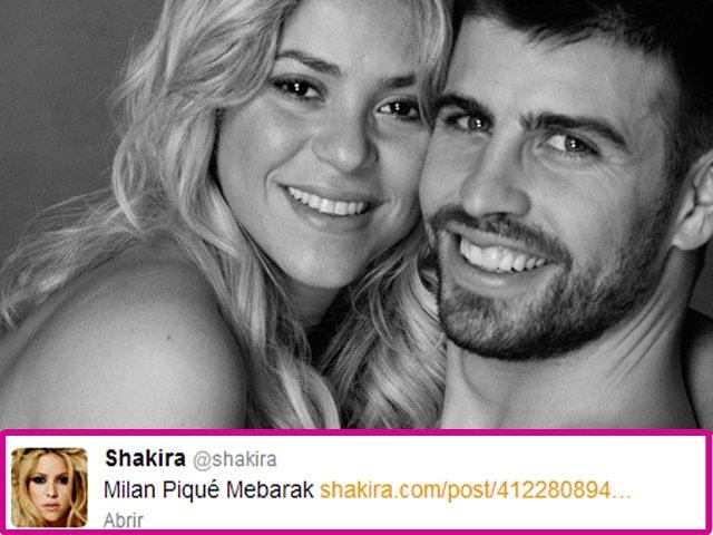 mis idolos::::::::::: Milan Piqué Mebarak: el hijo de Shakira y ...