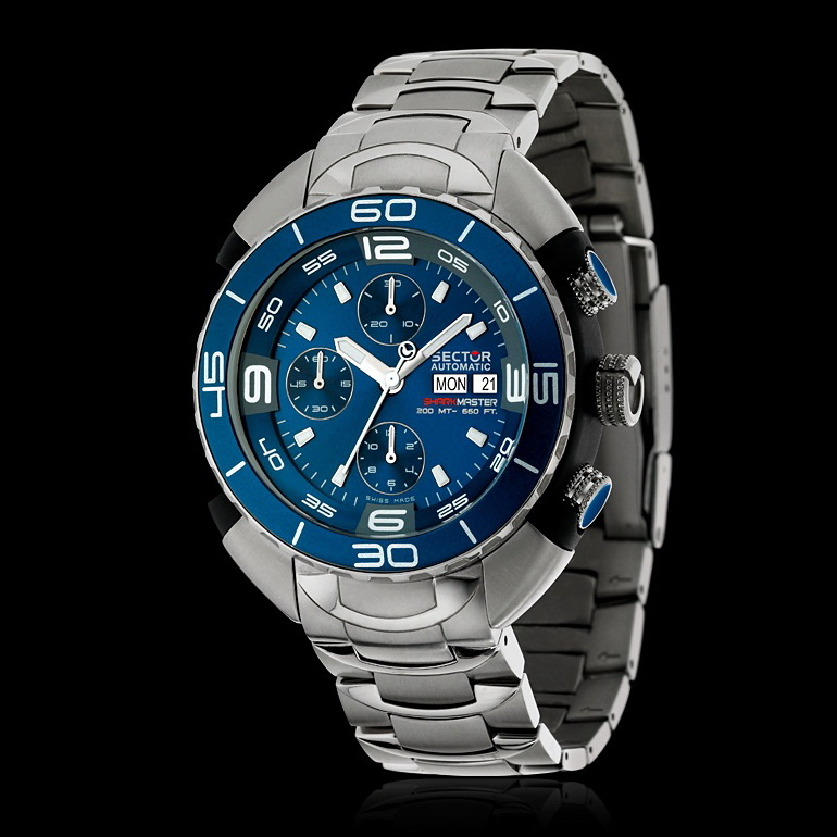Mini review sector 600 diver swiss watch excellence - Sector dive master ...