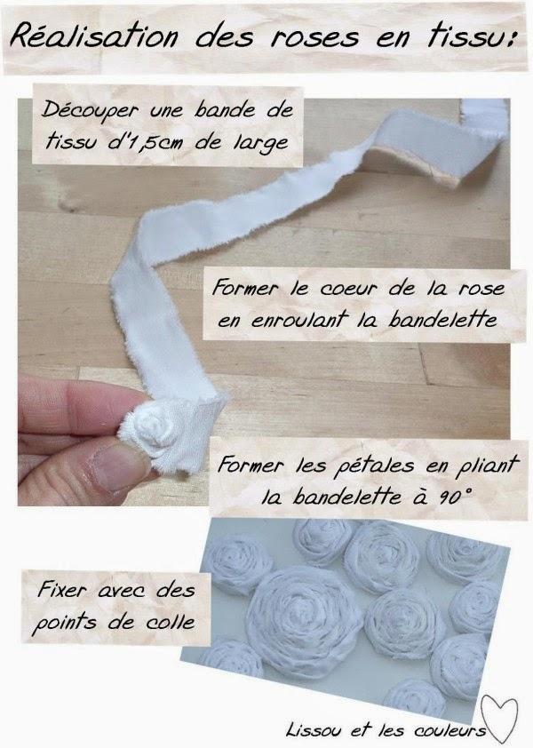 lissou et les couleurs des fleurs en tissu pour habiller. Black Bedroom Furniture Sets. Home Design Ideas