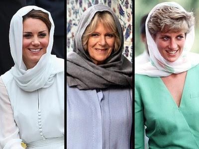 Skarf Kate bawa memori Puteri Diana