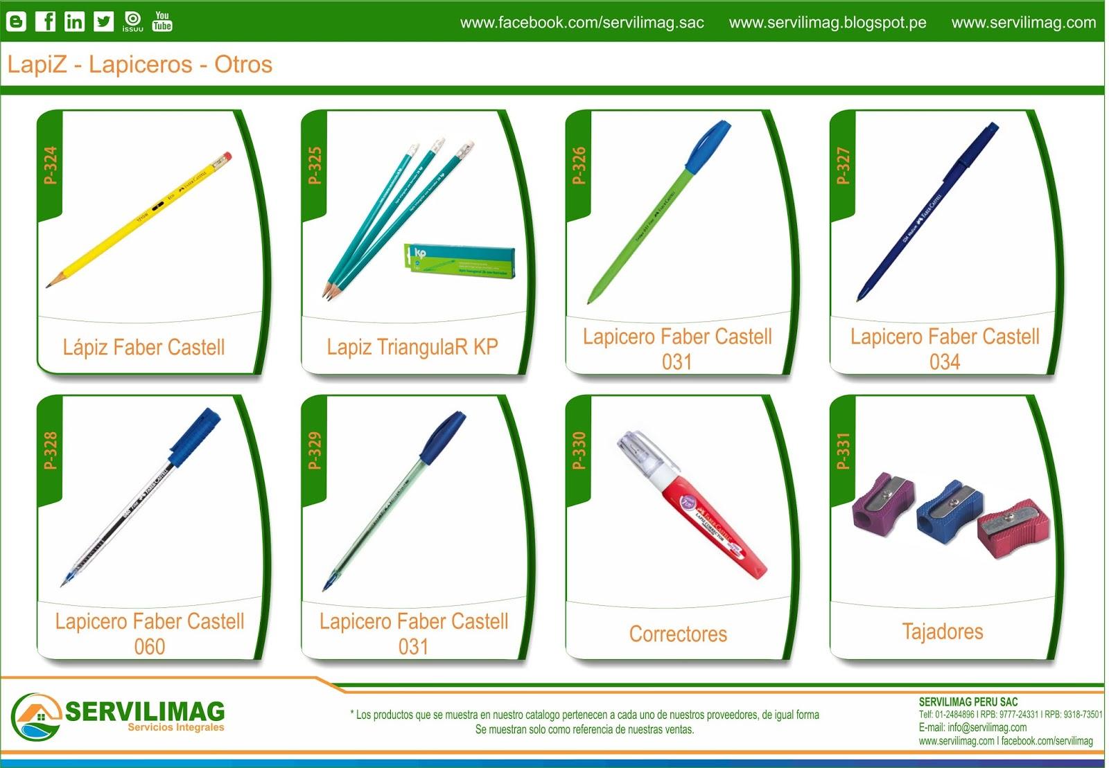 Servilimag servicios integrales venta productos de for Productos de oficina