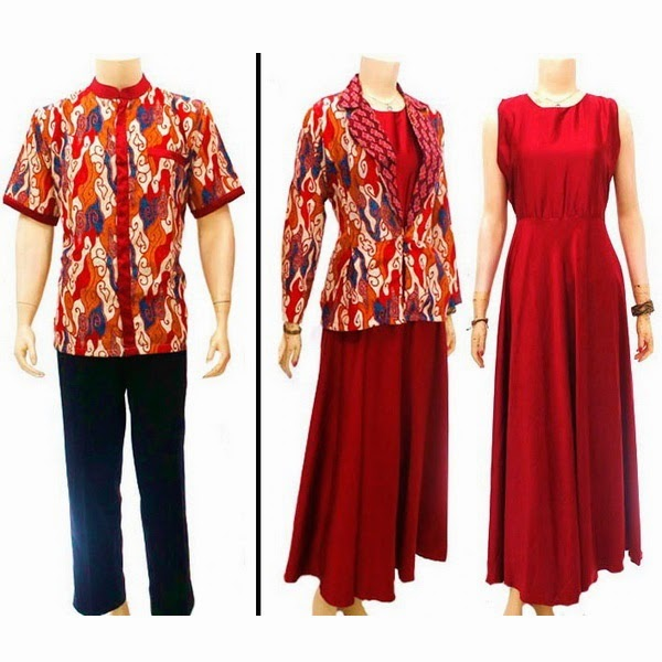 Baju Batik pasangan SEMI SUTRA