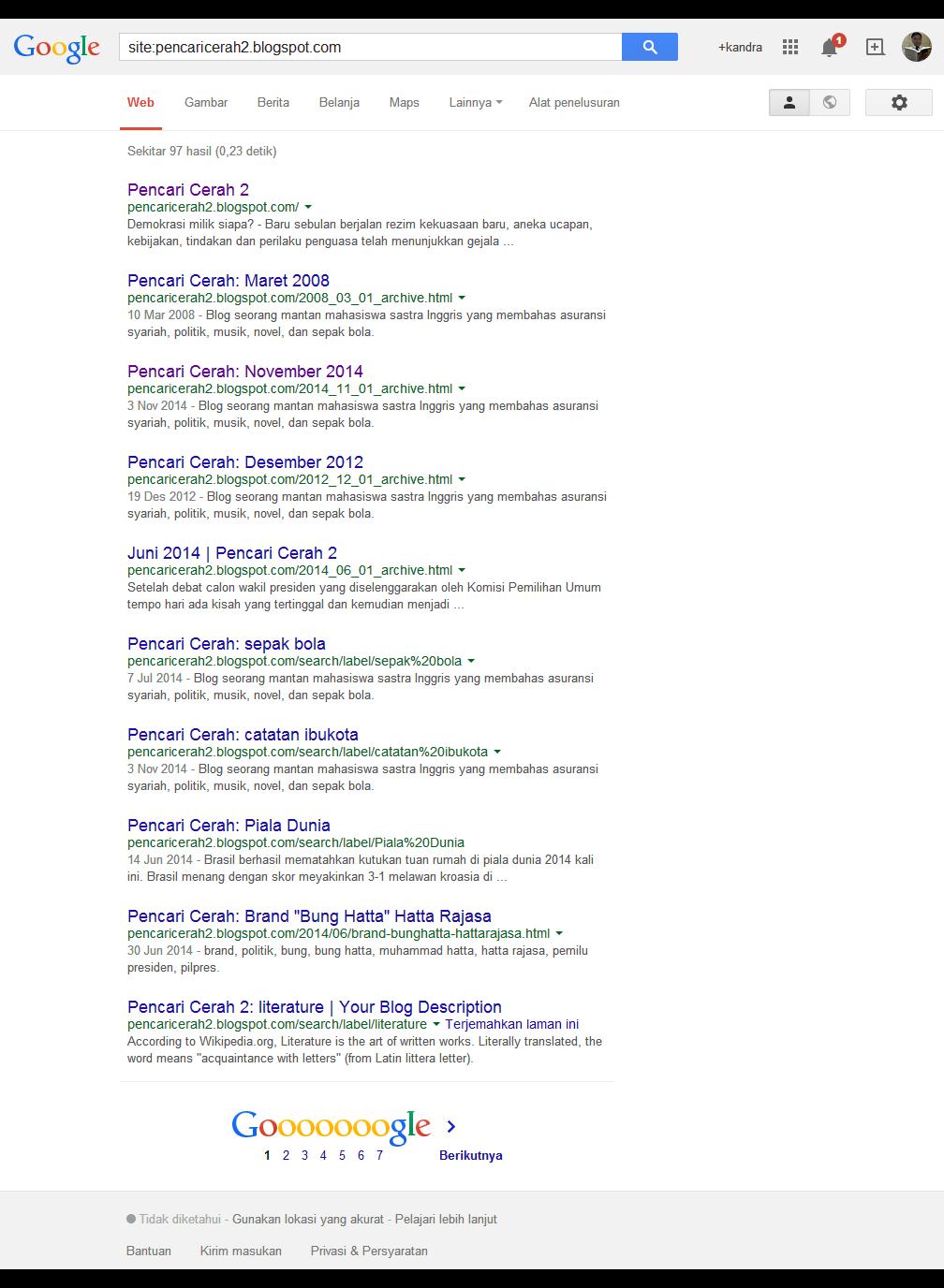 gak kena google sandbox atau penalized