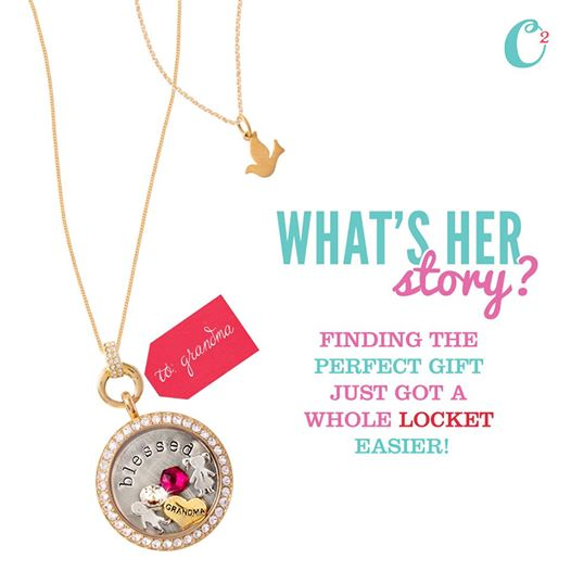 Finding the Perfect Gift Is a Whole Locket Easier with an Origami Owl Living Locket for all the women on your list | Shop StoriedCharms.com