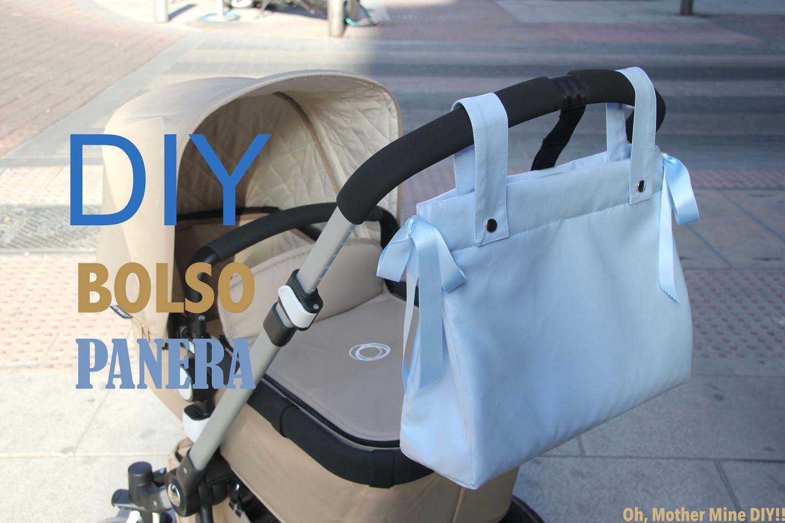 DIY Cómo hacer bolso panera para el carrito del bebe (patrones ...