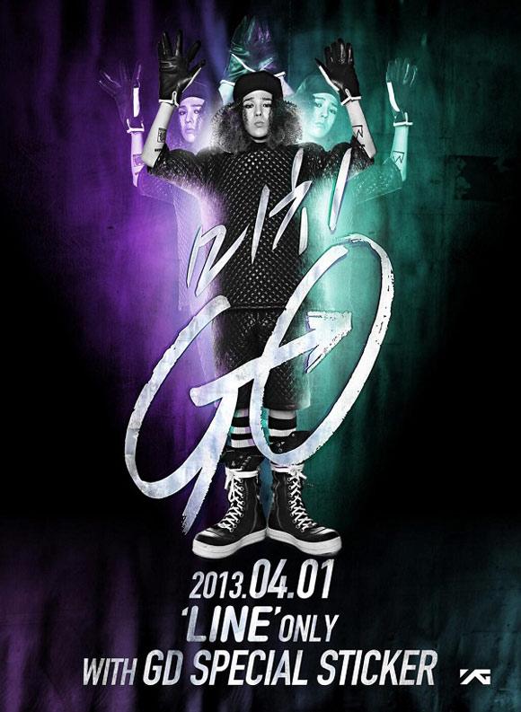 G-Dragon ra mắt poster cho Michi Go