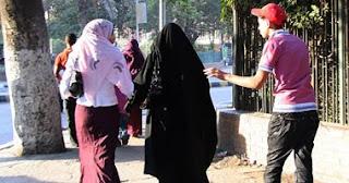 التحرش باالمحجبات والمنقبات في الشارع