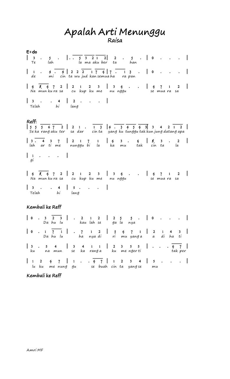 Chord Gitar Mudah Dmasiv