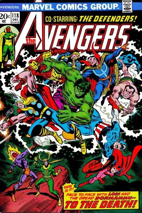 Portada de Avengers #118