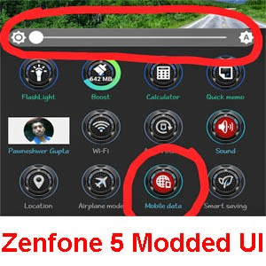 SystemUI mod for asus zenfone 5 for v 2.21.40.44