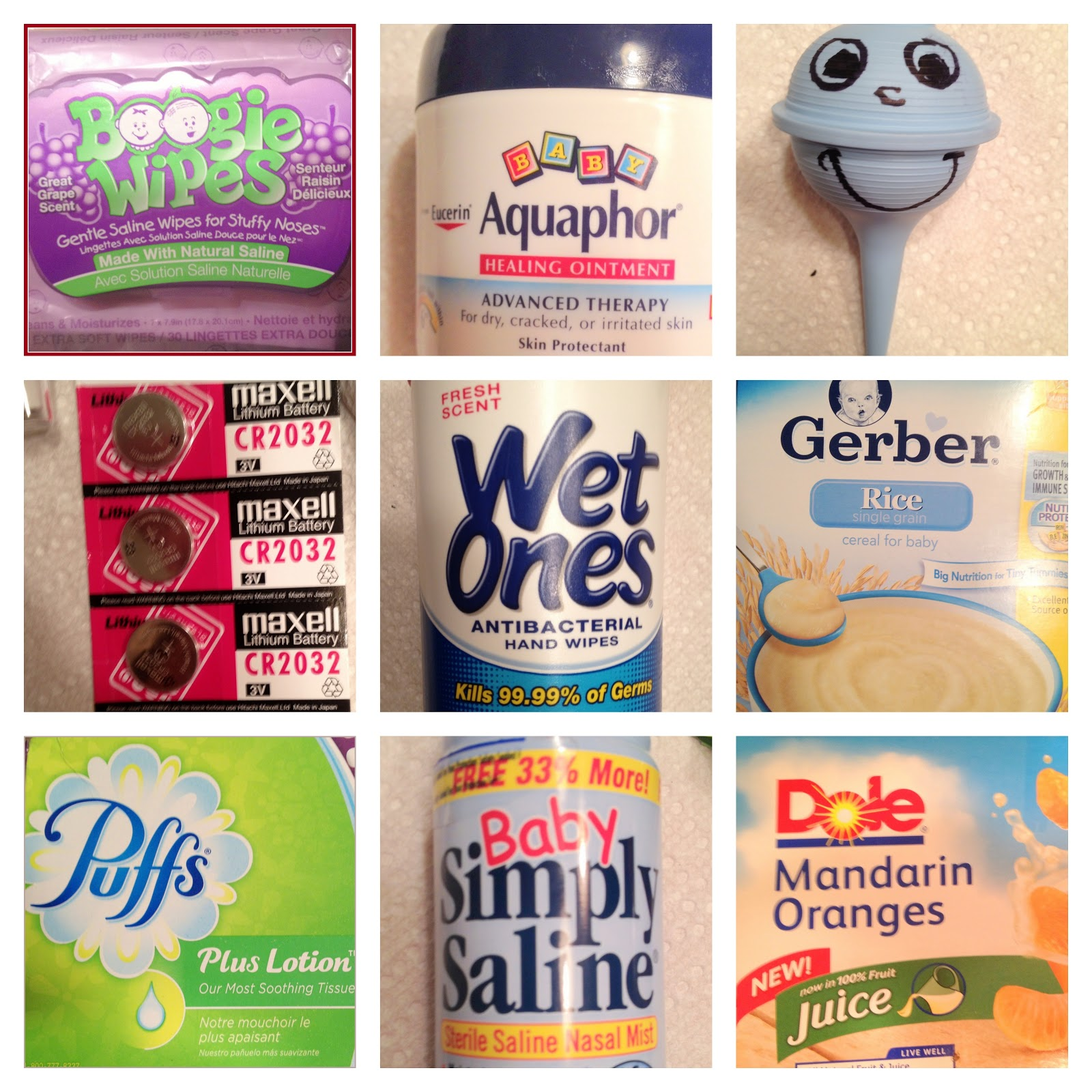 Mommy Mia Monologues: Top 20 Must Have Items for Sick Baby or Toddler #B51633