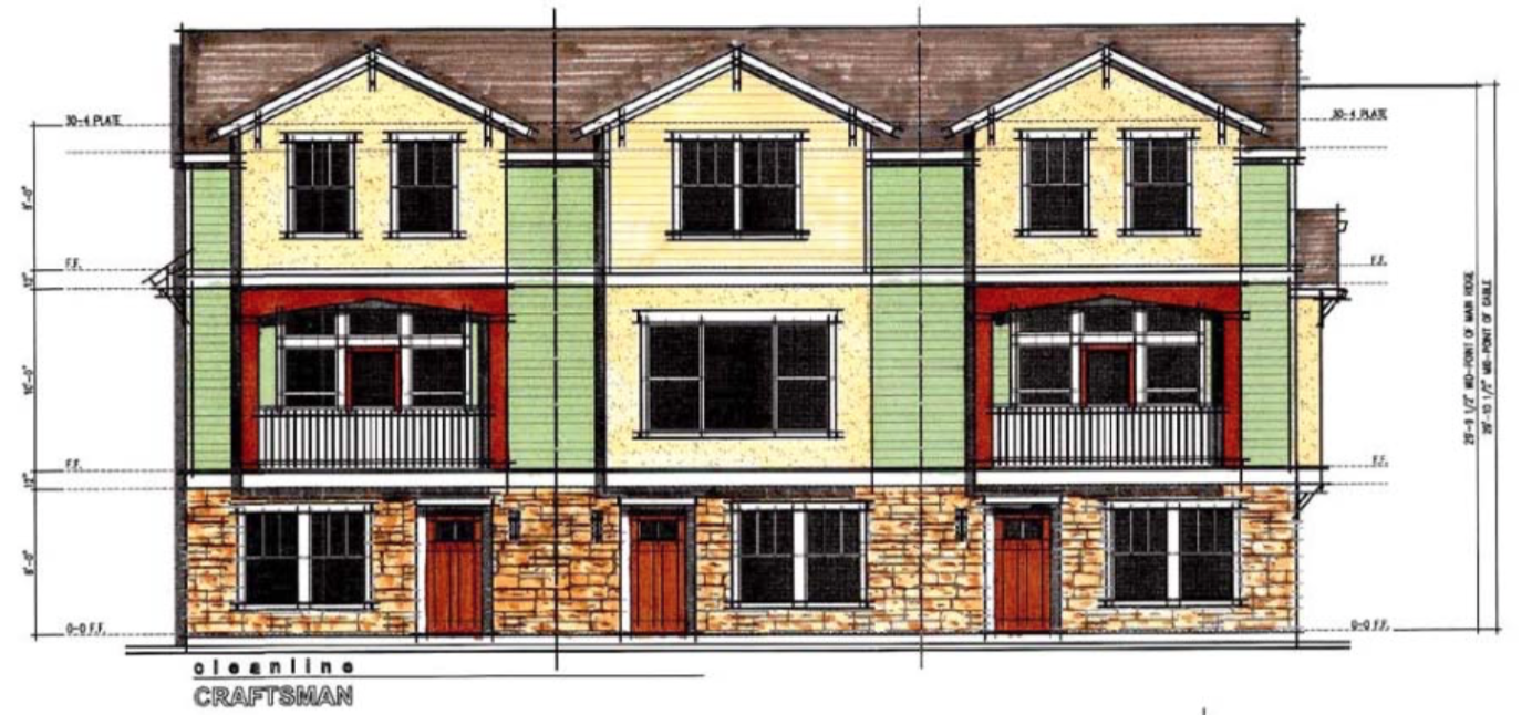 3 story town homes coming to new mills50 development for 3 story homes
