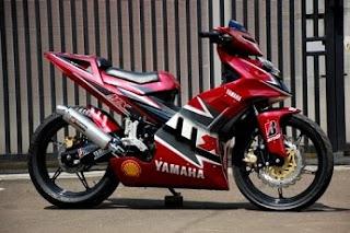 Gambar Modifikasi Motor MX 01