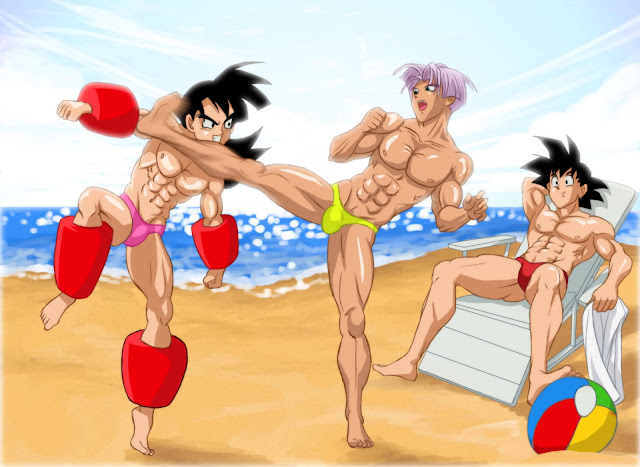 Yaoi Dragon Ball Z