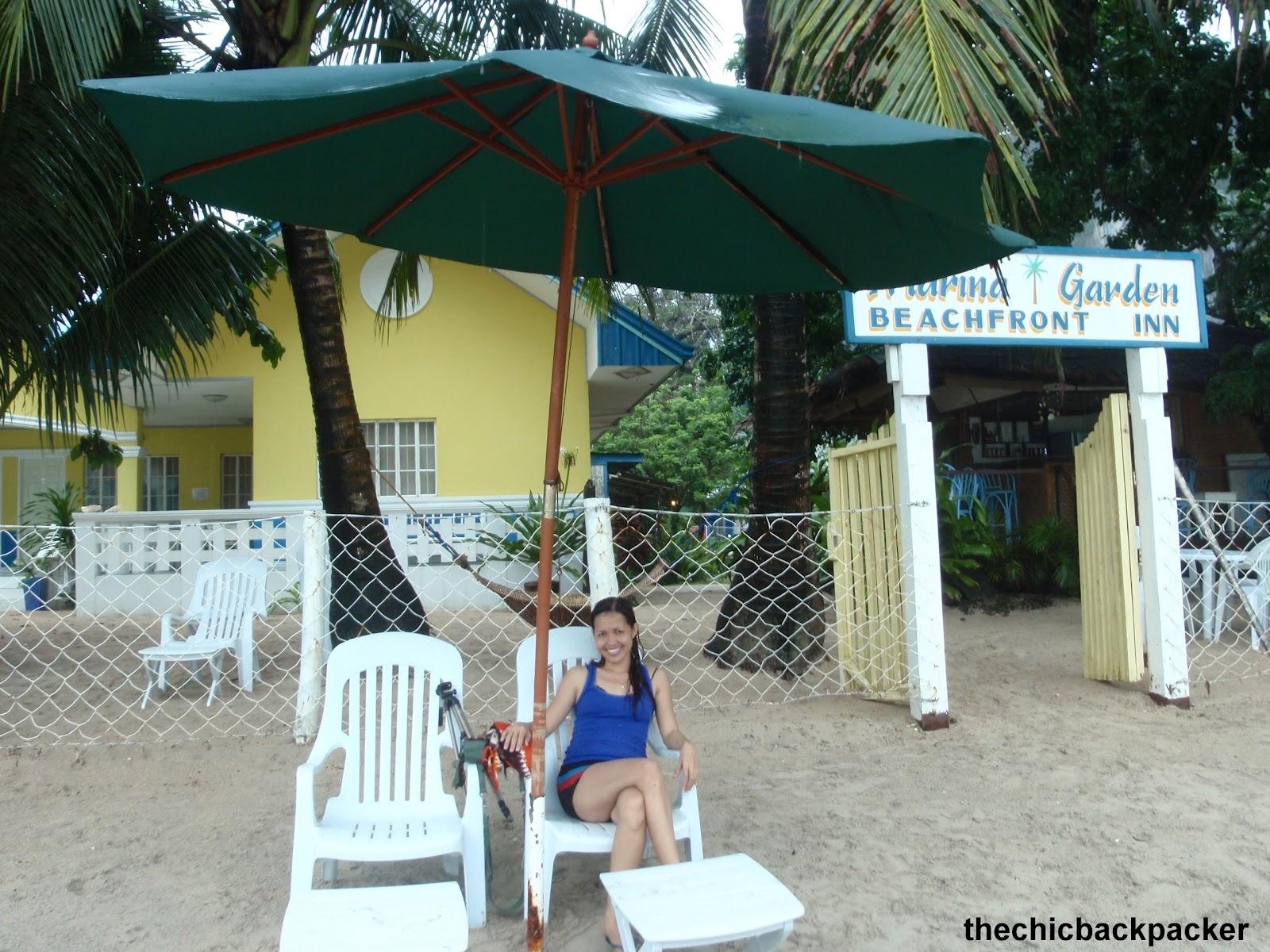 THE CHIC BACKPACKER: Marina Garden Beachfront Inn, El Nido, Palawan