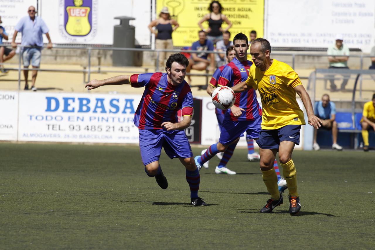 Club futbol gav castelldefels 1 0 gav for Trabajo en gava