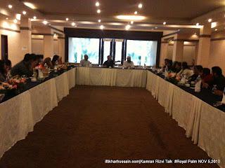 Meetup with Kamran Rizvi (Kambha), Royal Palm Golf and Country Club, Lahore, Avivons, Syed Kashif ul Hasnain