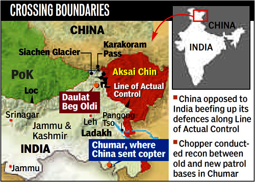 China Has Invaded India