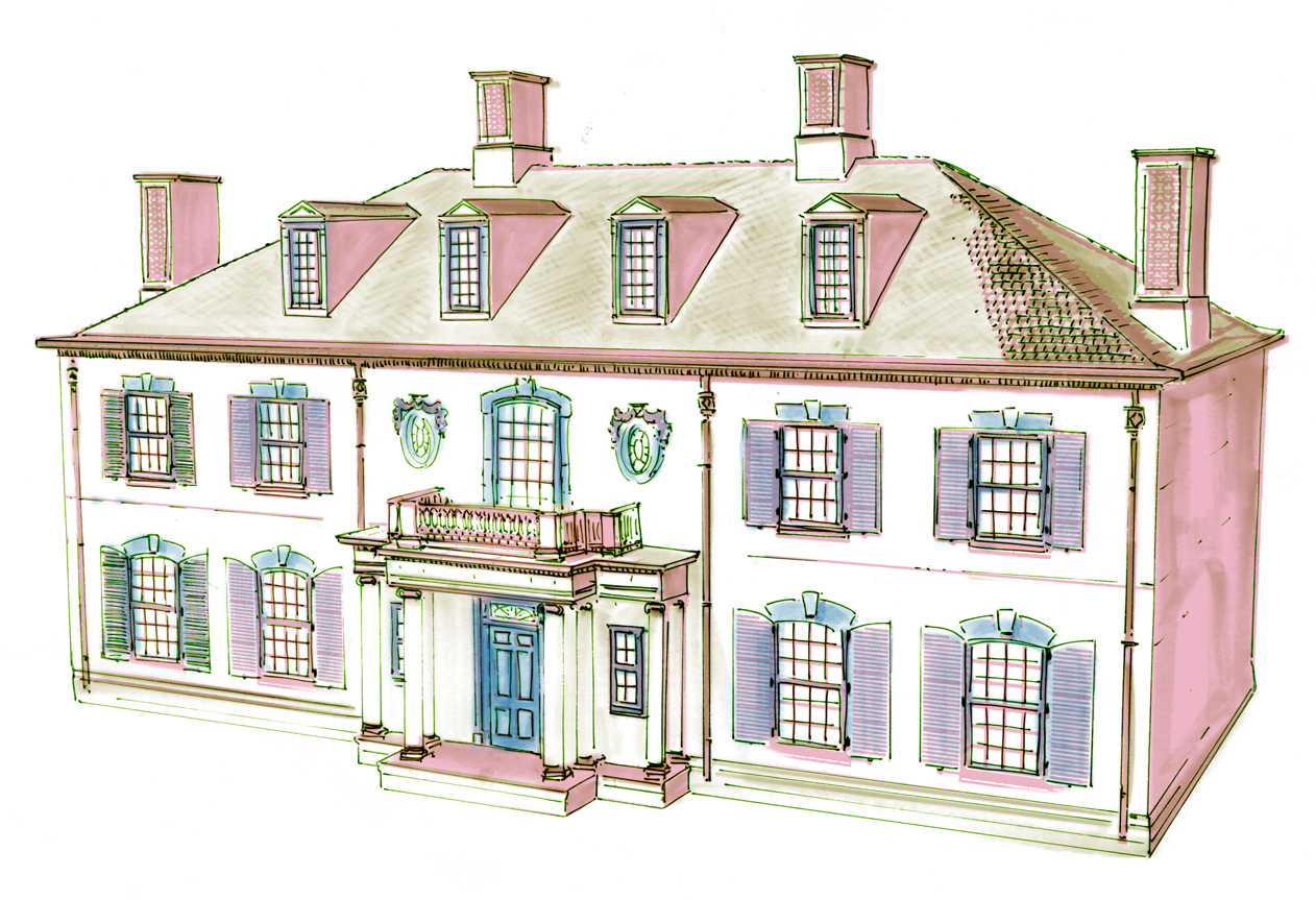 The 10 dollhouses featured at