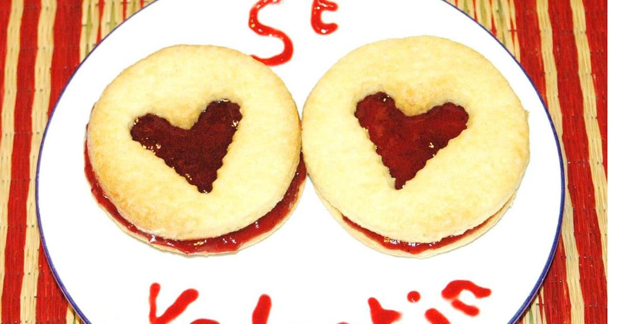 Recettes Mres Filles La Recette St Valentin Biscuits D