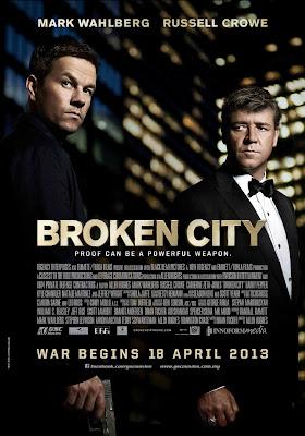 Broken City 2013 film movie poster large