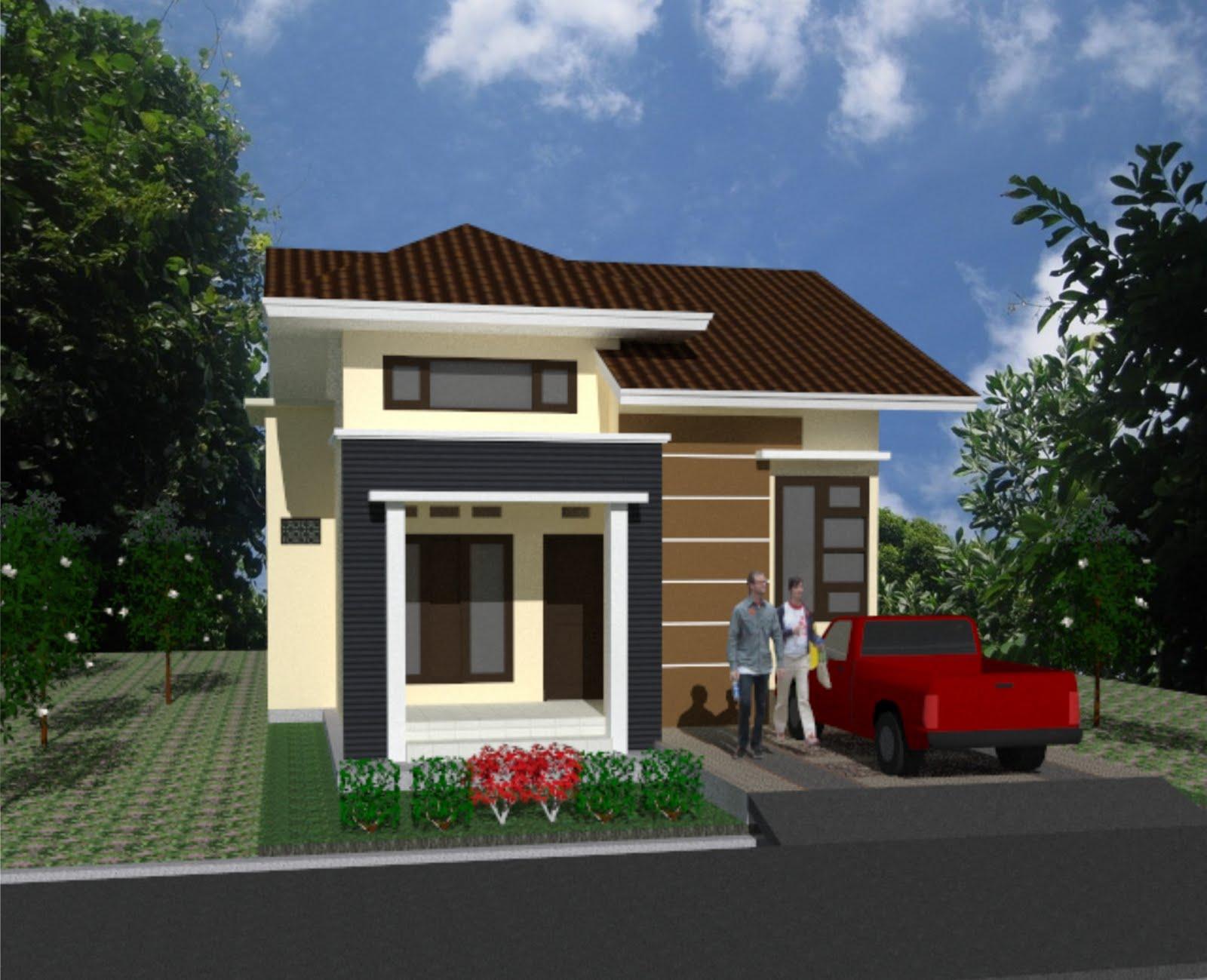 Contoh Gambar Rumah Minimalis Type 21 Yang Nyaman Dan Layak Untuk