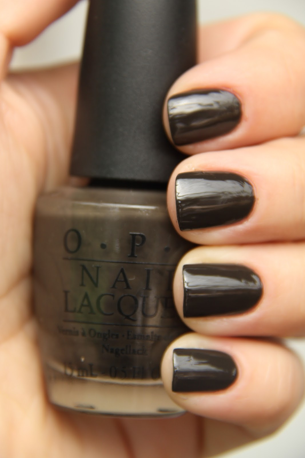 Opi Get In The Expresso Lane Nails by Catharina: OP...
