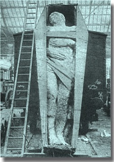 Ireland Giant mummy ancient mystery