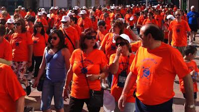Marcha en favor de Parkinson Segovia